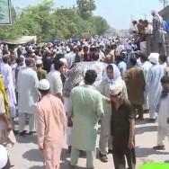 peshawar protest