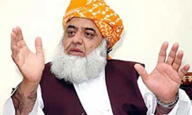 حلف نامے میں نقب لگانے والے کا کھوج لگانا ضروری ہے ، مولانا فضل الرحمان