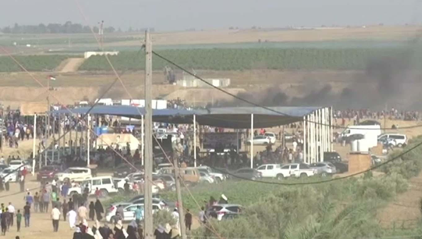 صیہونی فورسز کا طاقت کا وحشیانہ استعمال، 109 فلسطینی زخمی