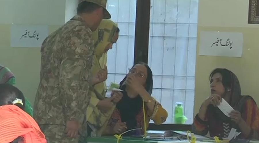 ایکشن کمیشن نے مسلح افواج کو آرٹیکل 220،245 کے تحت تعاون کیلئے طلب کرلیا