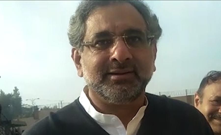 نیب کراچی کی شاہد خاقان عباسی کے خلاف ریفرنس دائر کرنے کی سفارش