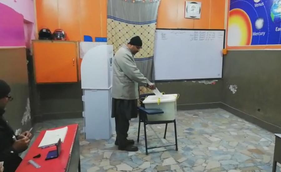 پی پی 168 میں ضمنی انتخاب کیلئے پولنگ مکمل ، ووٹوں کی گنتی جاری