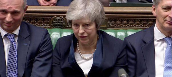 برطانوی پارلیمنٹ بریگزٹ رطانوی وزیراعظم ٹریزامے کنزرویٹوپارٹی جیرمی کوربن