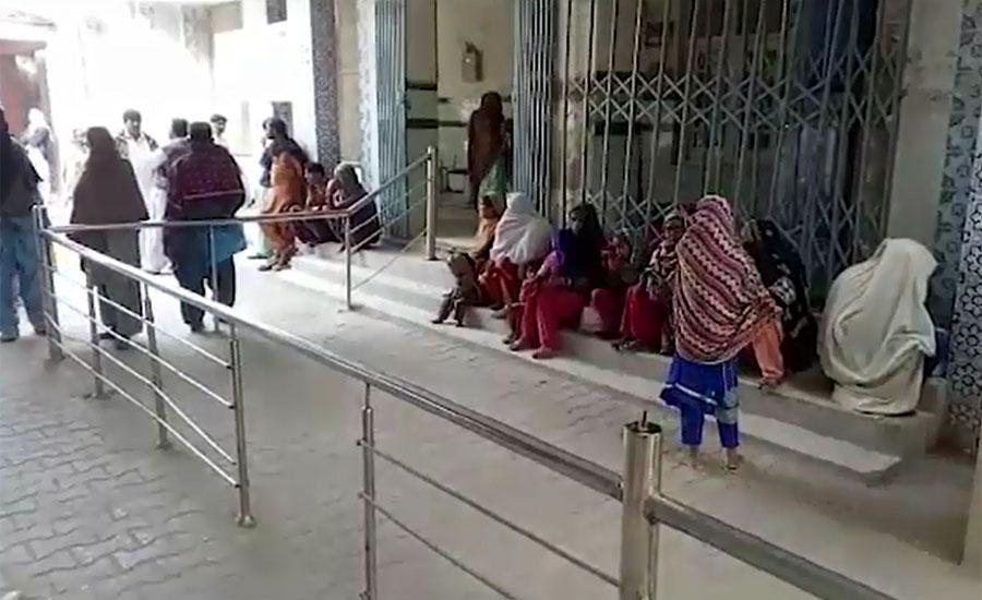 سندھ میں ہڑتالی ڈاکٹرز اور محکمہ صحت کے درمیان مذاکرات کامیاب