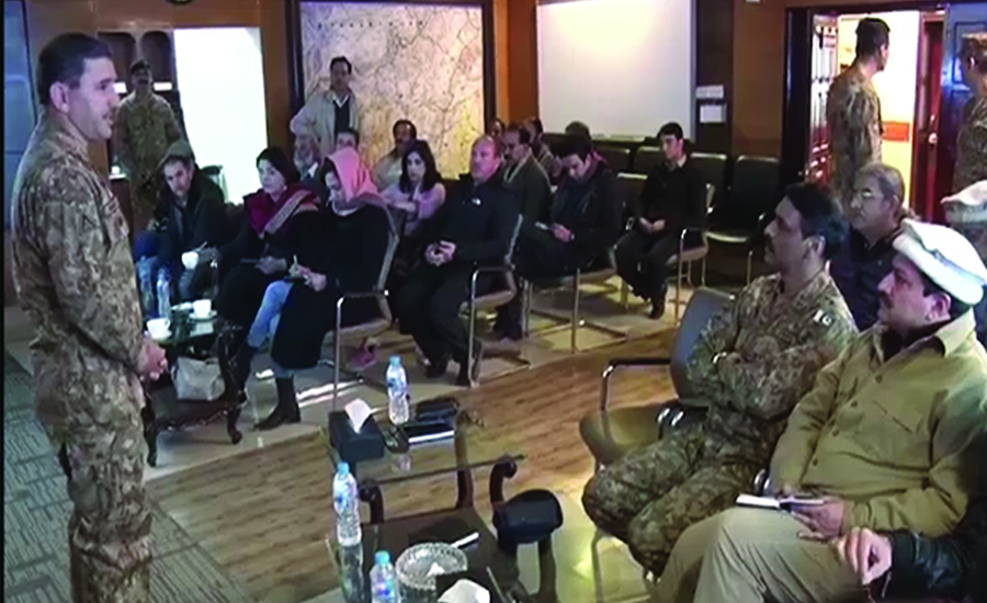 افغانستان میں امن پاکستان کے مفاد میں ہے، ڈی جی آئی ایس پی آر