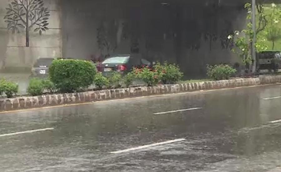 ملک بھر میں وقفے وقفے سے بارش کا سلسلہ جاری