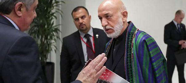 امن حامد کرزئی، عطا محمد نور اشرف غنی افغانستان