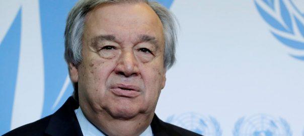 سیکرٹری جنرل اقوام متحدہ انتونیو گوتریس