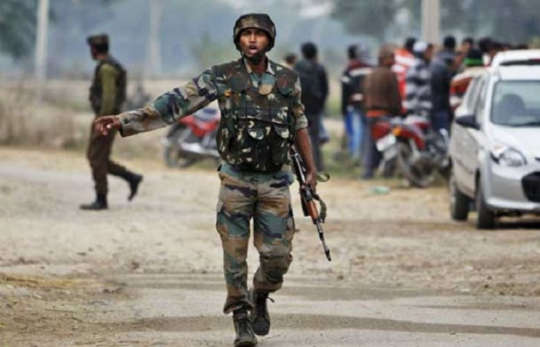 بھارتی فورسز کا نام نہاد سرچ آپریشن ، فائرنگ سے ایک کشمیری شہید