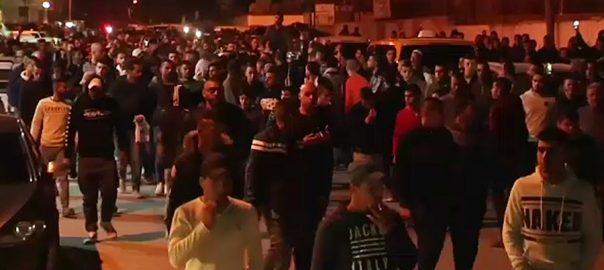فلسطینیوں اسرائیلی فوج سیکیورٹی چیک پوسٹ فائرنگ