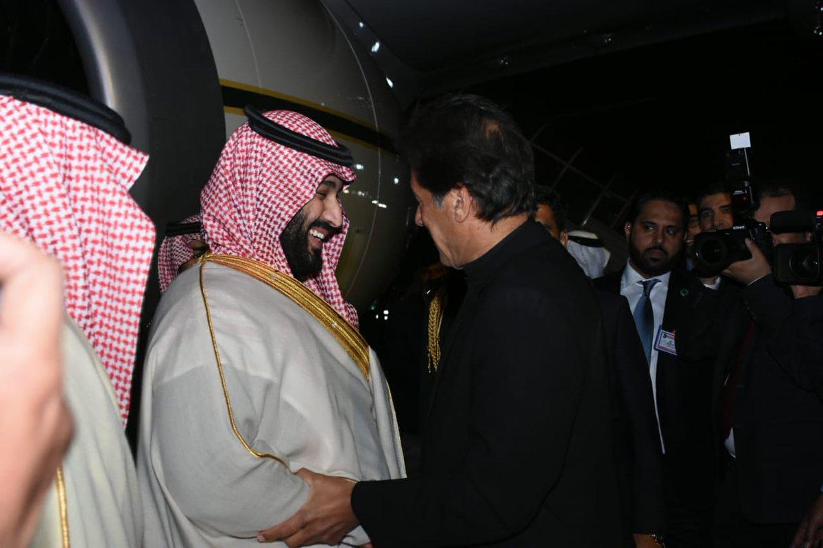 سعودی ولی عہد کا دورہ پاکستان متنازعہ بنانےکی سازش ناکام بنادی گئی