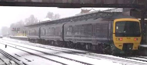 برطانیہ منفی دس برفباری محکمہ موسمیات