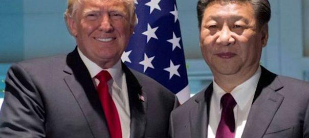 امریکی حکام صدر ٹرمپ صدر شی جن پنگ تجارتی معاہدہ مذاکرات ٹرمپ
