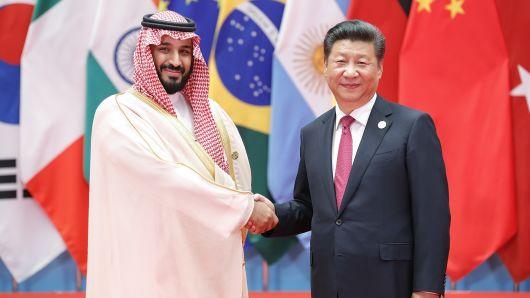 شہزادہ محمد بن سلمان کے چین کیساتھ 28ارب ڈالر کے 12تجارتی معاہدے