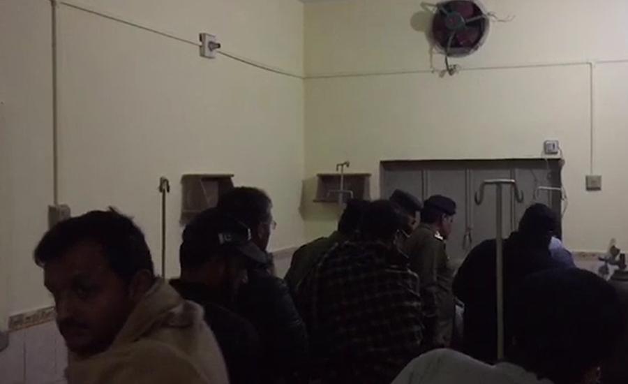 حافظ آباد ، نجی اسپتال میں مبینہ غلط انجکشن لگنے سے بچہ جاں بحق
