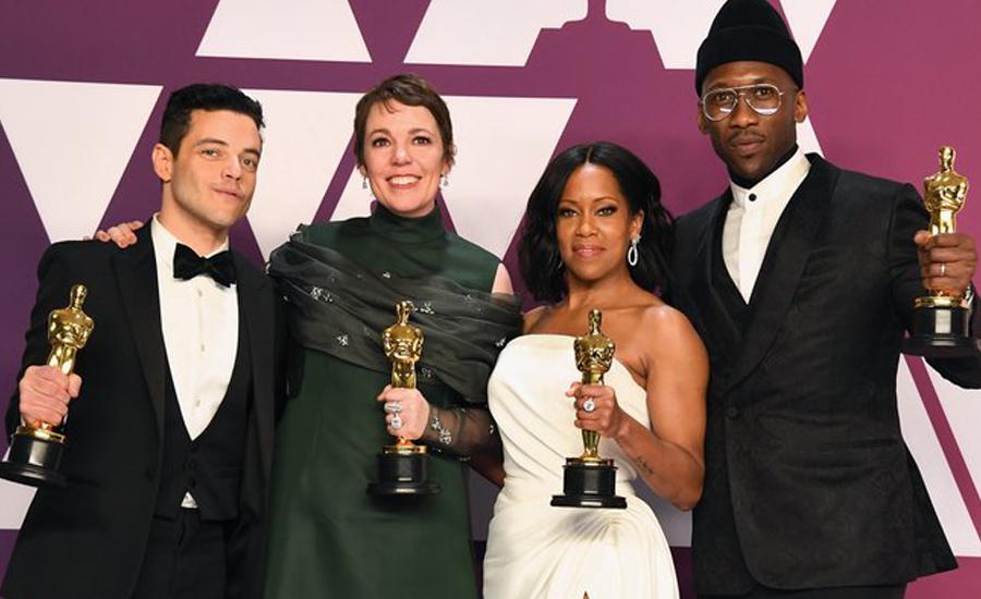آسکرز ایوارڈز کا میلہ گرین بک اور روما نے لوٹ لیا