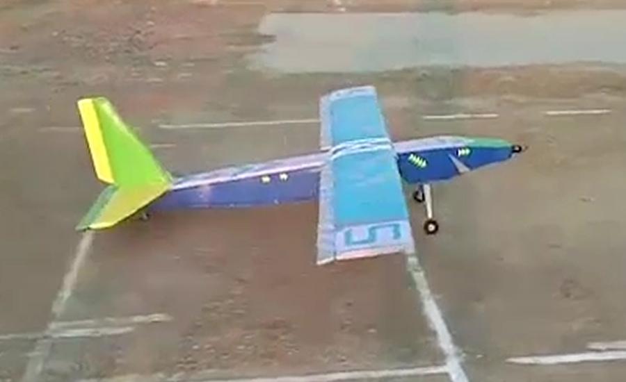 صوابی ، طلبہ نے جنگی جہازوں کے ماڈل تیار کر لئے