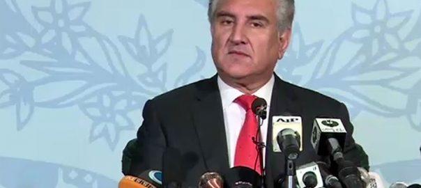 وزیر خارجہ شاہ محمود قریشی پاکستانی حکومت افواج دفاع کشمیریوں