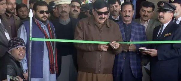 وفاقی وزیر شیخ رشید احمد شہباز شریف پی اے سی جناح ایکسپریس
