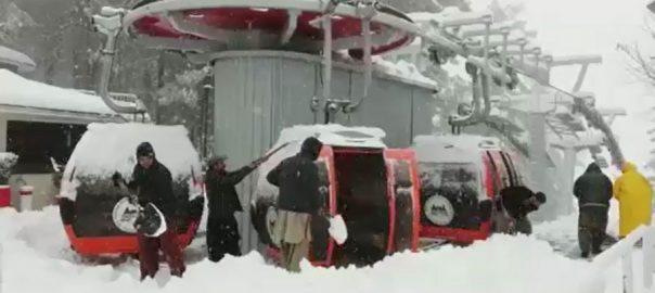 ملکہ کوہسار برف باری سیر و تفریح