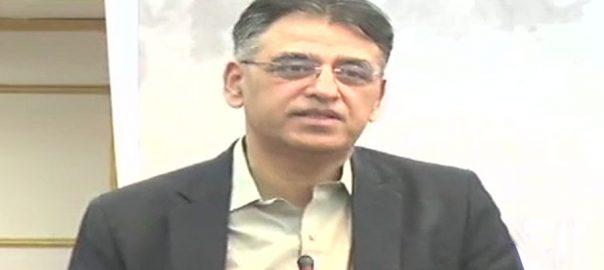 اسد عمر وزیر خزانہ پاکستان تنہا سی پیک غیرملکی سفارتکاروں خسرو بختار
