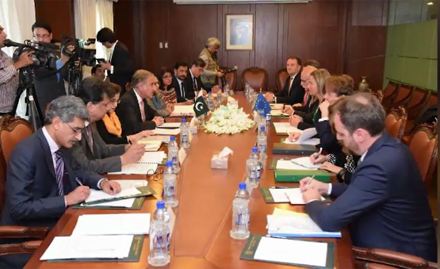 پاکستان اور یورپی یونین میں معاشی و سماجی شعبوں میں تعاون پر اتفاق