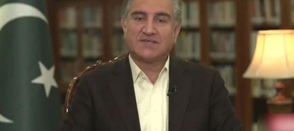 کشمیریوں بھارتی مظالم دنیا آگاہ شاہ محمود سفارتی محاذ سرگرم