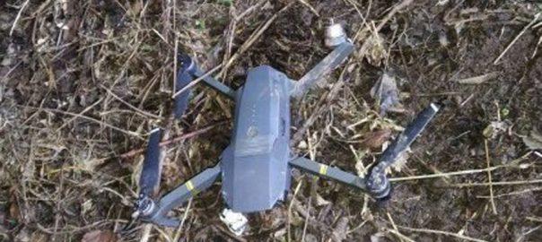 پاک فوج بھارت ڈرون ایل او سی رکھ چکری سیکٹر