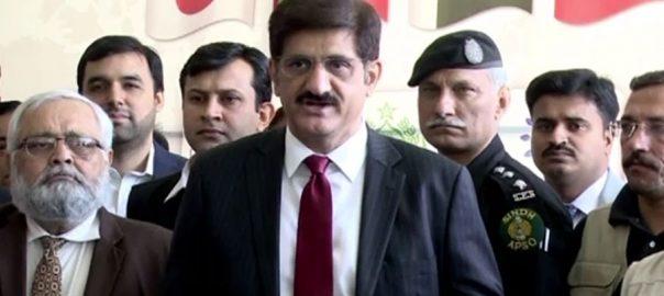 وزیراعلیٰ سندھ مراد علی شاہ تھر کوئلہ بجلی نیشنل گرڈ
