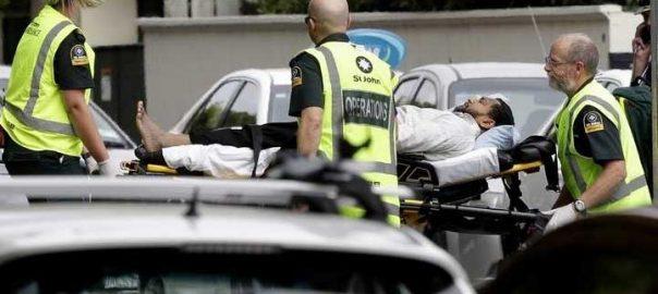 نیوزی لینڈ کرائسٹ چرچ مسجد فائرنگ عینی شاہدین پولیس خود کار رائفل