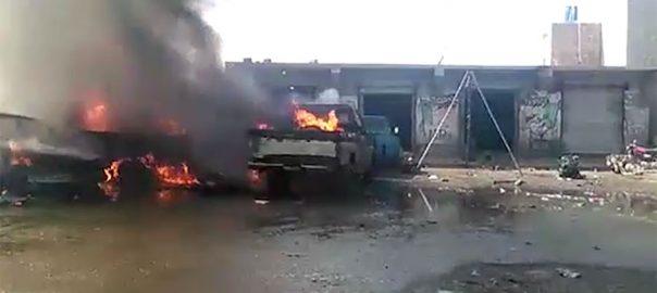 بلوچستان بارودی مواد دھماکا لیویز ضلع قلعہ عبداللہ ایف سی