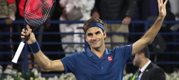 راجر فیڈرر اسٹفنوس دبئی ٹینس چیمپئن شپ سیمی فائنل بوربا کورک