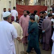 کراچی ، جمشید روڈ بجلی گراؤنڈ ، آتشزدگی ، فائر بریگیڈ