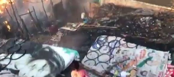 تحفظ بھارت پولیس انتہا پسندی تجاوزات املاک نذرِ آتش