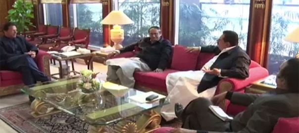 وزیراعظم عمران خان ق لیگ چودھری شجاعت حسین متحدہ قومی موومنٹ گرینڈ ڈیموکریٹک الائنس