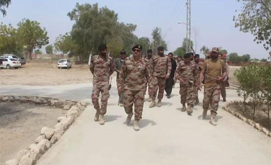 میجر جنرل فیاض حسین شاہ ، ڈیرہ مراد جمالی ، انسپکٹر جنرل فرنٹیئر کور بلوچستان نارتھ ، قبائلی عمائدین، سول انتظامیہ، سول سوسائٹی
