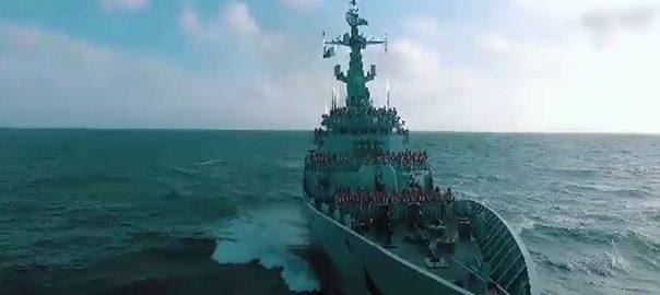 پاک بحریہ فضائیہ زمینی برتری آئی ایس پی آر ٹارگٹ پاک فوج