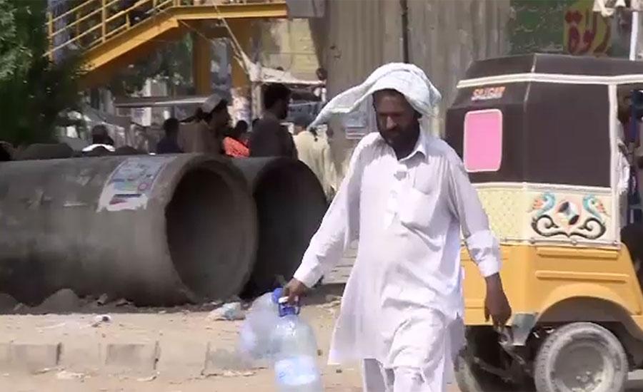 کراچی میں ہیٹ ویو کا دوسرا دن ، درجہ حرارت 32 ڈگری کراس کر گیا