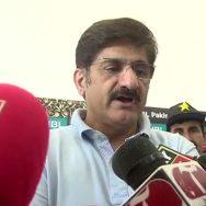 وزیراعلیٰ سندھ مراد علی شاہ نیشنل اسٹیڈیم فائنل انکلوژر بلاول بھٹو