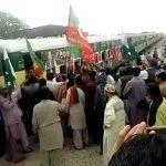 دفاع پاکستان مارچ کراچی کینٹ سے رحیم یار خان کیلئے روانہ