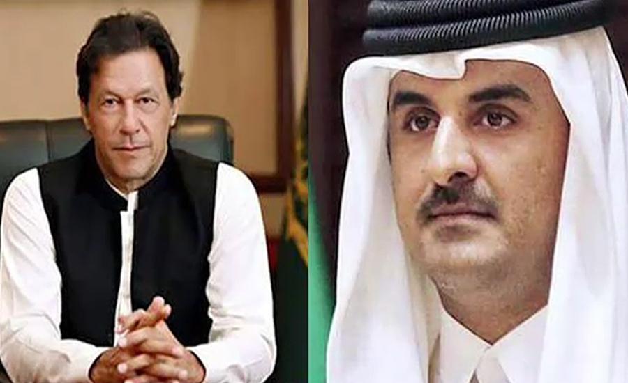 امیر قطر کا وزیراعظم سے ٹیلیفونک رابطہ، پاک بھارت کشیدگی پر گفتگو