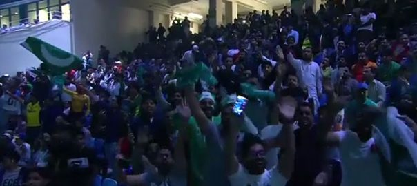 پاکستان سپر لیگ فائنل نیشنل اسٹیڈیم جنون گروپ ابرار الحق، آئمہ بیگ فواد خان