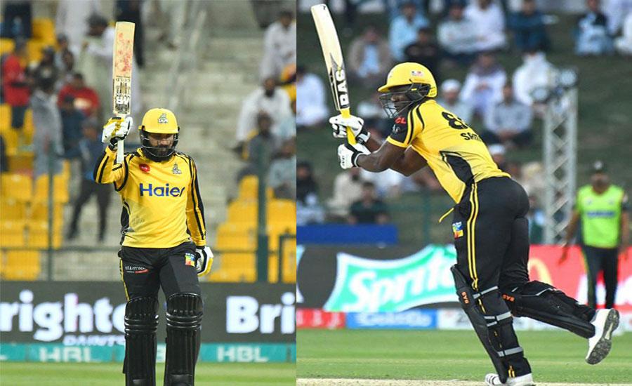 پشاور زلمی نے لاہور قلندرز کو چار وکٹوں سے شکست دے دی
