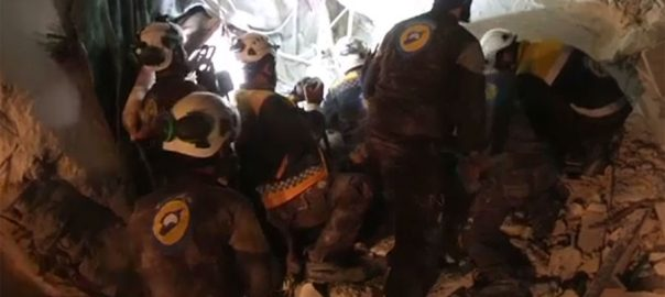 ادلب روسی طیاروں بمباری سیرئن آبزرویٹری اقوام متحدہ