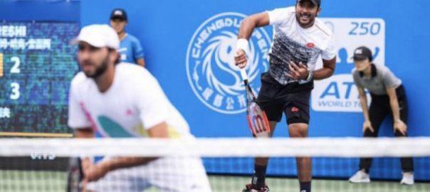 عصام الحق اور سانتیاگو گونزالز نے مینز کلے کورٹ چیمپئن شپ کا ٹائٹل جیت لیا