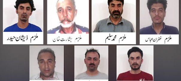 کراچی ، محمد علی کے قتل میں گلگت بلتستان پولیس نے بھی معاونت کی 