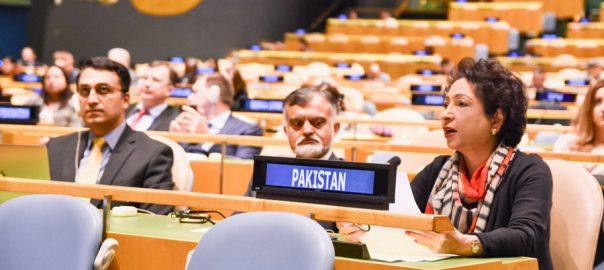 اقوام متحدہ میں مذہب اور تعصب کی بنیاد پر دہشت گردی کیخلاف قرارداد منظور