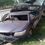لاہور ، گلبرگ پولیس کی وین حادثے کا شکار ، 4اہلکار شہید