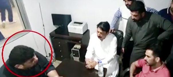کراچی ، نشوہ کے والد کو ایس پی گلشن کی جانب سے دھمکیوں کی تحقیقات مکمل