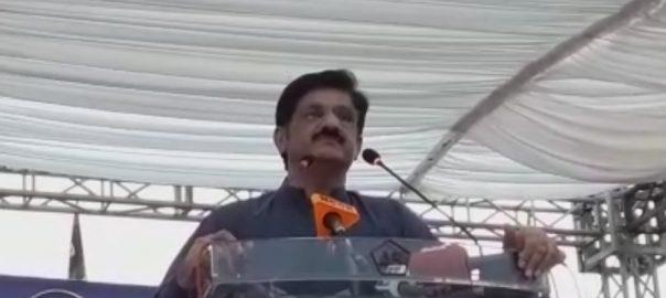 پی ٹی آئی کو خود علم نہیں کہ وہ کیسے حکومت میں آگئی ، مراد علی شاہ 